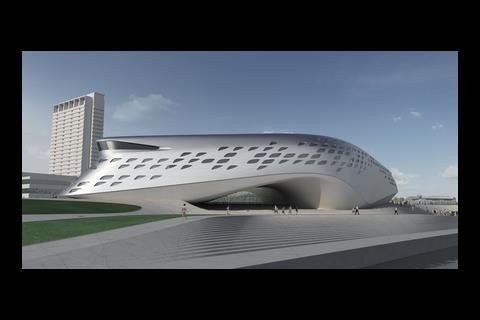 Hadid's Guggenheim-Hermitage museum